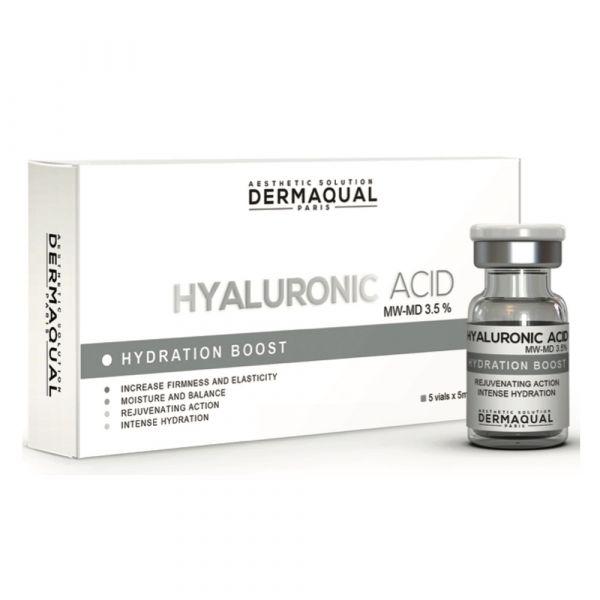 Dermaqual - Hyaluronic Acid MW-MD 3.5% 5x5ml