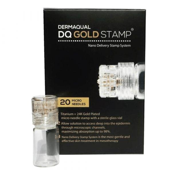 Dermaqual 24K GOLD Derma Stamp (0.6mm)