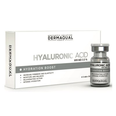 Dermaqual - Hyaluronic Acid MW-MD 3.5% 5x5ml