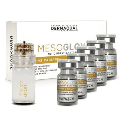 Dermaqual - Lift & Glow home care set (5ampules + 1stamp)