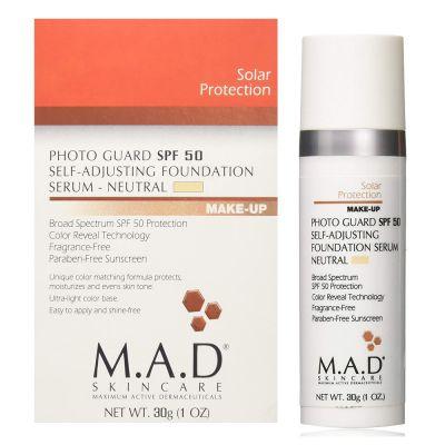M.A.D Skincare - Photo Guard SPF 50- Self-Adjusting Foundation Serum