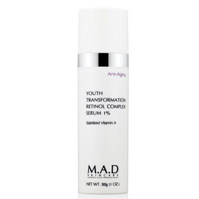 M.A.D Skincare Youth Transformation Retinol Serum 1%