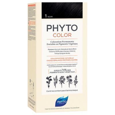 Phyto - Phytocolor 1 Black Permanent Coloring
