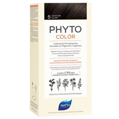 Phyto - Phytocolor Shade 5 Light Brown Permanent Hair Color